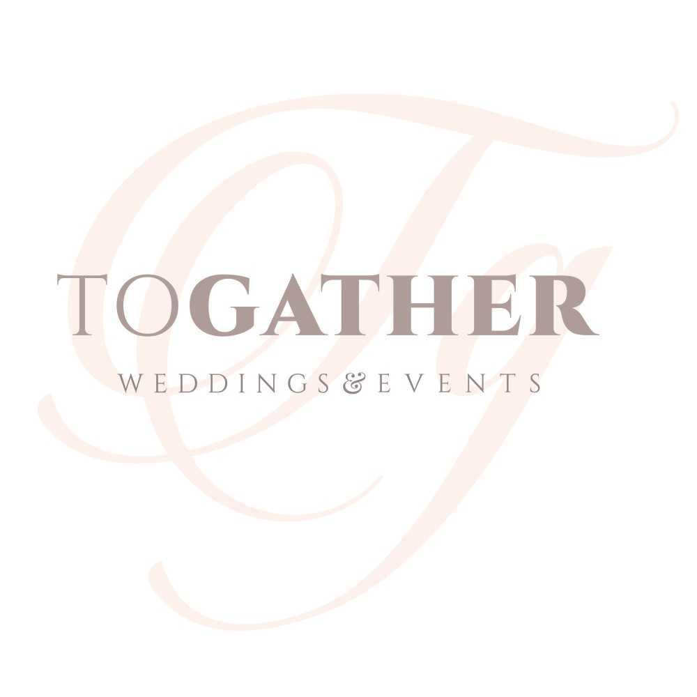 Logo de l'agence Togather weddings & events, spécialisée dans les mariages et évènements.
