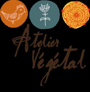 Logo Atelier Végétal, magasin de fleurs à Lausanne.