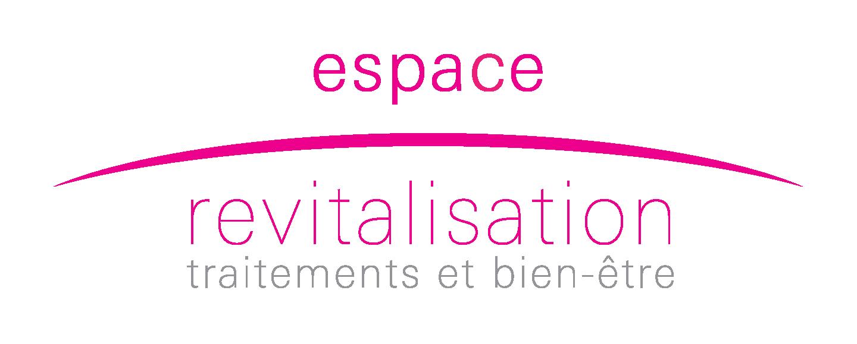 Logo Espace Revitalisation, traitement des tissus de la peau avec la machine LPG.